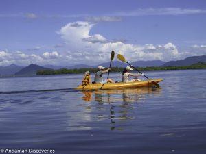 Kayaking in India, Andaman