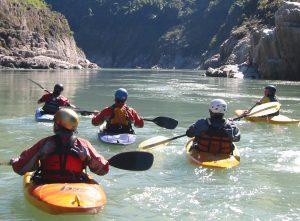 Kayaking in India, Brahmaputra River