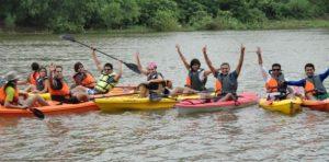 Kayaking in India, Kolad