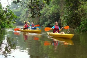 Kayaking in India, Goa