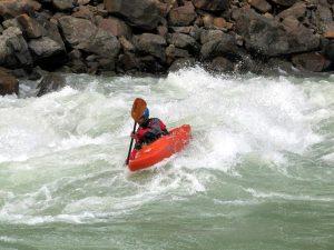 Kayaking in India, Rishikesh