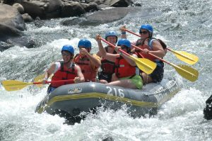 River rafting in Rishkesh