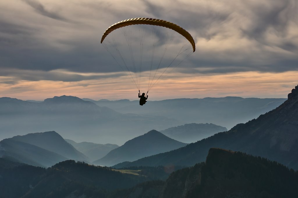 paragliding with Togedr