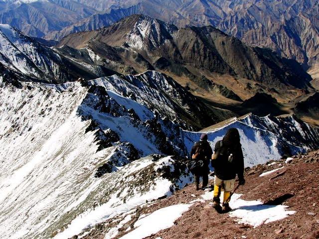 Stok-Kangri-trek