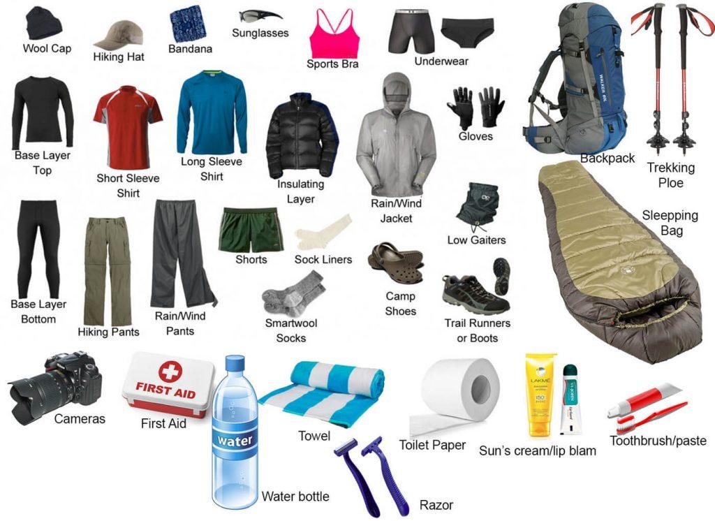Trekking-equipment