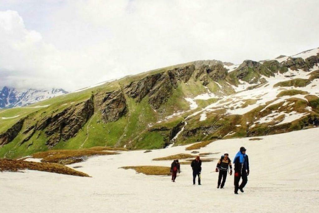 Bhrigu Lake trek in summer