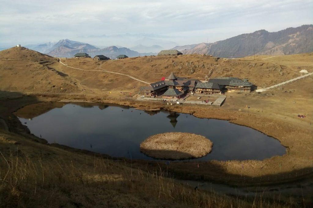 Prashar Lake in summer