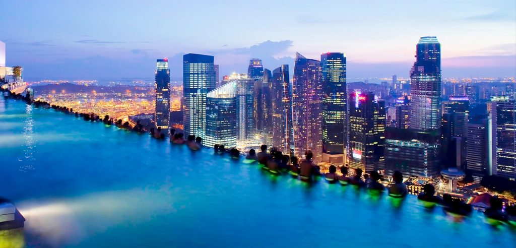 Marina Bay of Singapore