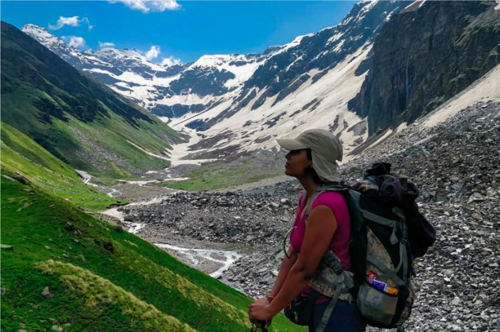 Buran Ghati Trekking in Summers