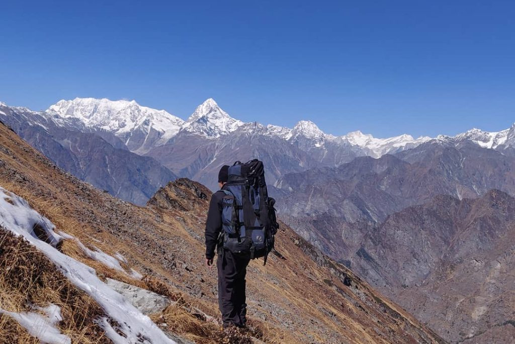 Kagbhusandi trek in summer